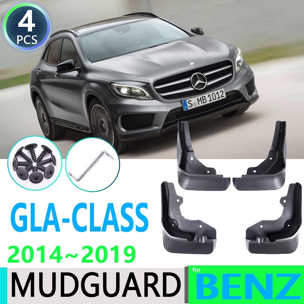 Для Mercedes Benz GLA Class W156 2014 ~ 2019 180 200 220 250 260 AMG крыло брызговики Брызговики автомобильные аксессуары