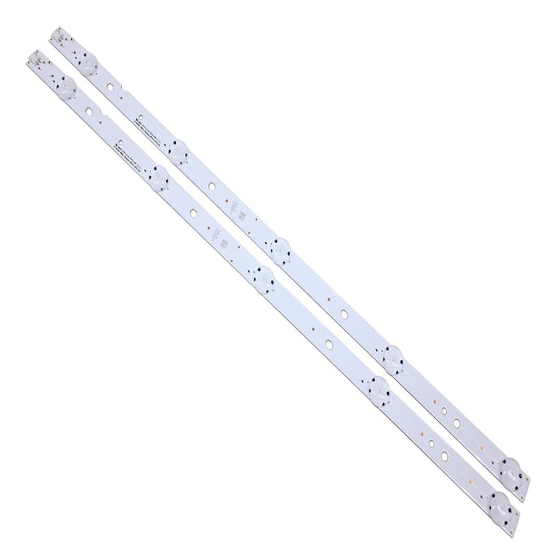 8 stücke led-hintergrundbeleuchtung streifen 5leds für LG Innotek 49 zoll Panasonic REV0.4 TX-49DS500B TX-49DS500E TZLP151KHAB6 TZLP151KHAB1