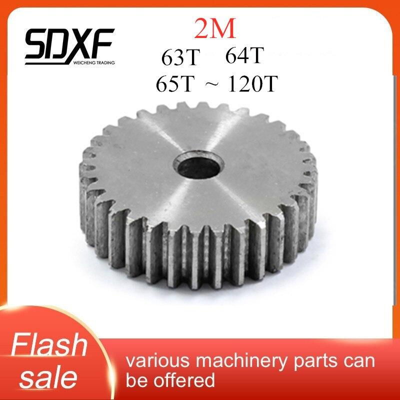 معدات طائرة 2 م 45 # فولاذ ، 63 أسنان إلى 120 فتحة معالجة الأسنان تحتاج إلى معالجتها بنفسها