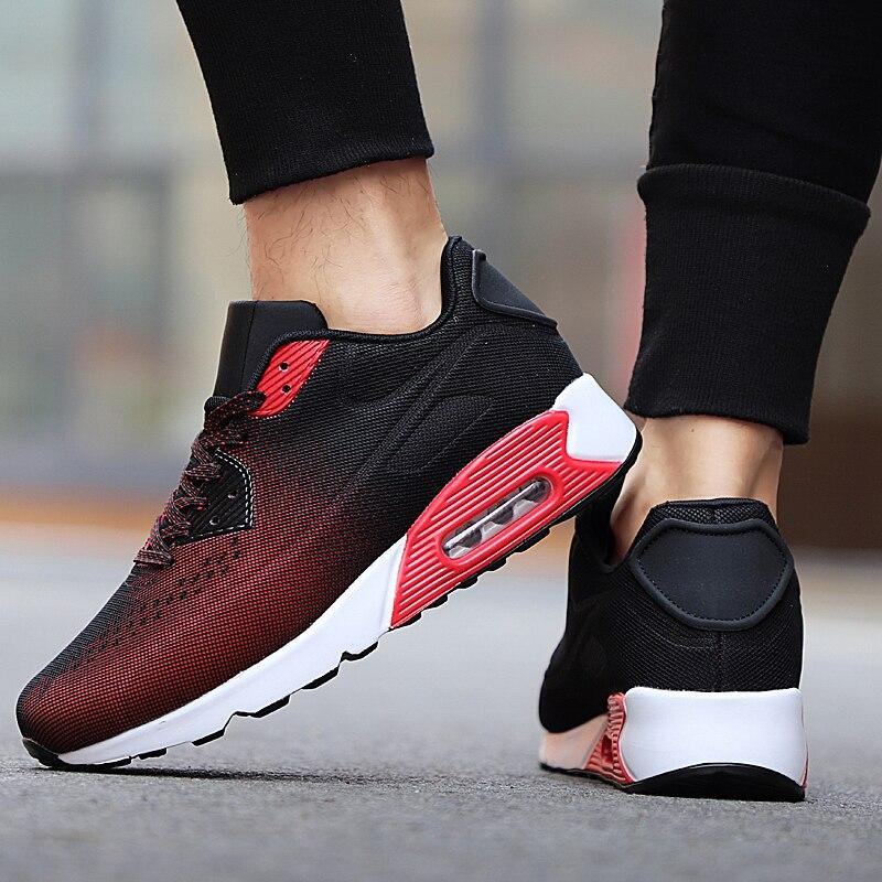 Zapatillas de deporte para hombre 2020, zapatos de mujer transpirables de marca ligera, zapatos para correr con colchón de aire, zapatillas deportivas Unisex para gimnasio talla 36-46