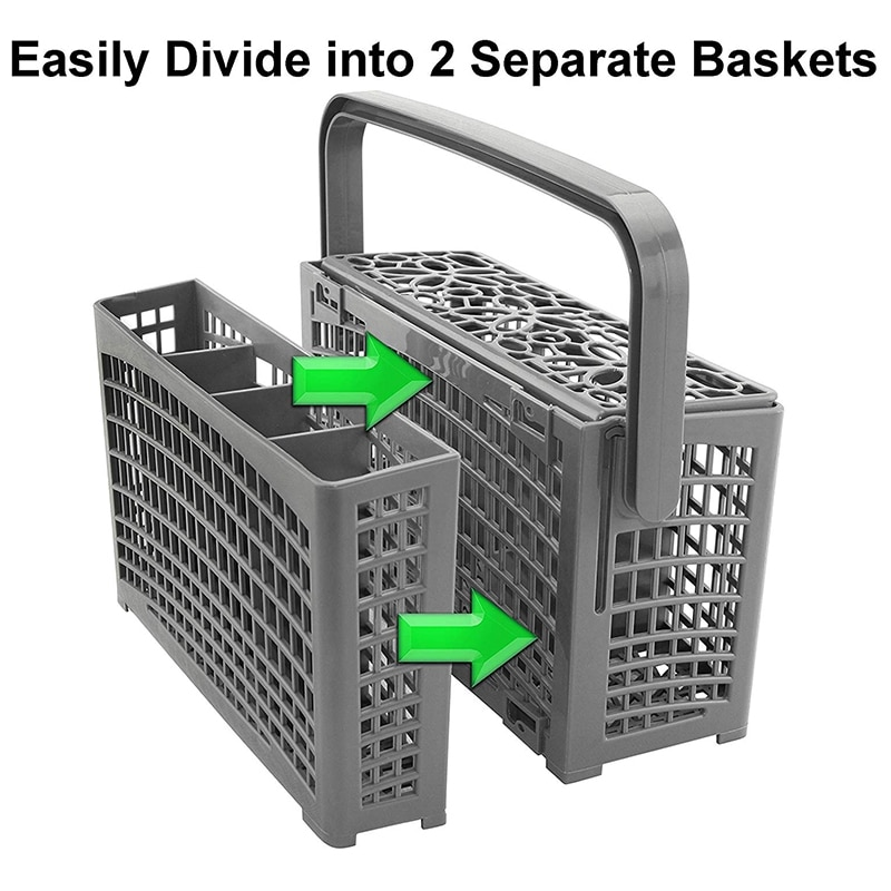Universal Cutlery Dishwasher Replacement Basket Accessories for , Maytag, Kenmore, Whirlpool, LG,Samsung