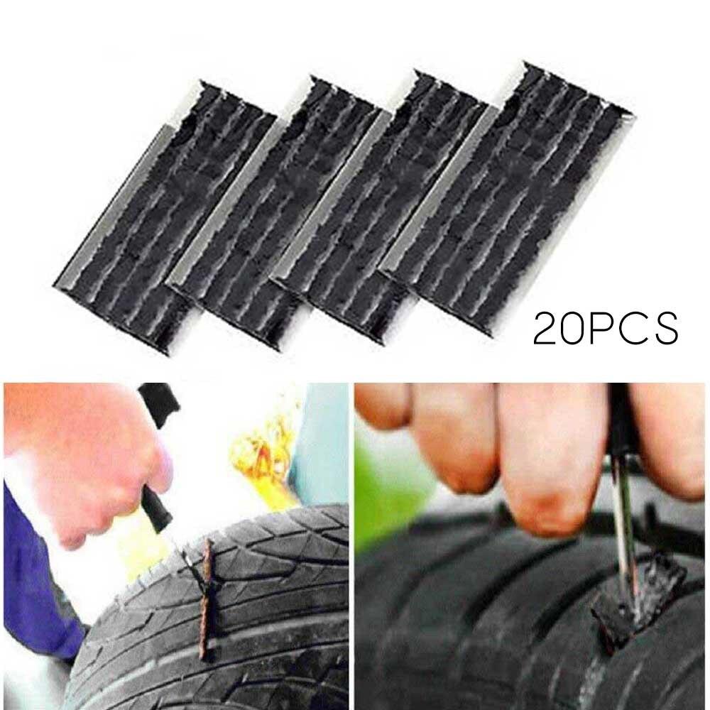 20x быстрая шина, ремонт автомобильных шин, резиновые полосы, автомобильные шины, инструменты для авто, велосипеда, мотоцикла, бескамерные ши...