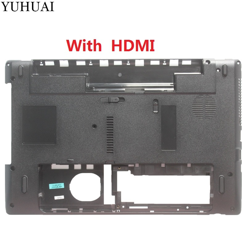 New Laptop D Cover For Packard Bell MS2291 Bottom case Base Black