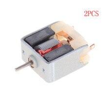 2 pièces bricolage Mini 020 moteur DC3V 6200 tr/min moteur haute vitesse pour modèle de jouet de passe-temps