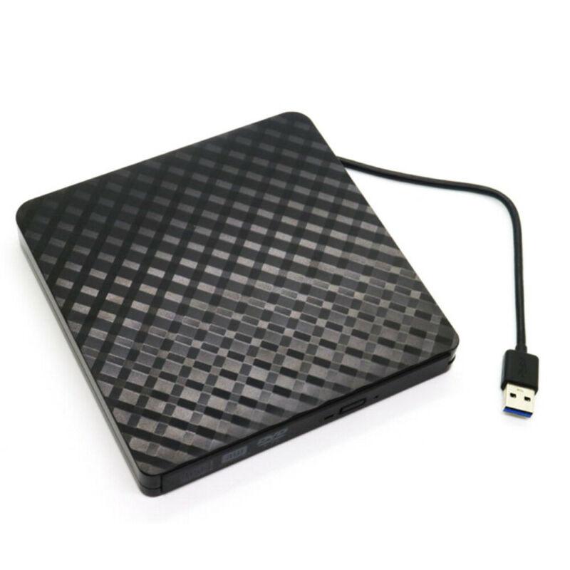 خارجي DVD Rom محرك USB 3.0 مشغل أقراص مضغوطة قارئ القرص لأجهزة الكمبيوتر المحمول الكمبيوتر المحمول