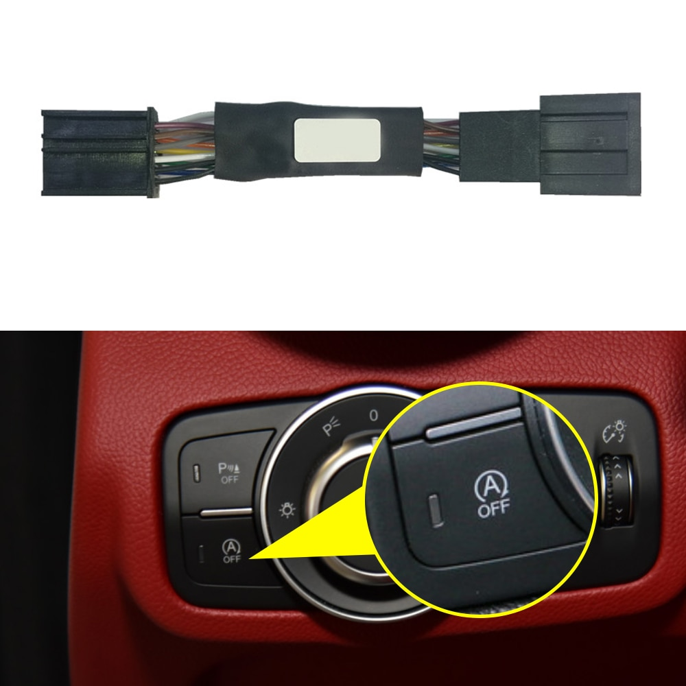 Système de démarrage et arrêt automatique pour Alfa Romeo Giulia 952 2015 – 2020, système de suppression de câble de voiture