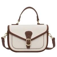 high quality summer small bag 2021 new trendy fashion net red one shoulder small square bag ladies luxury retro messenger bag