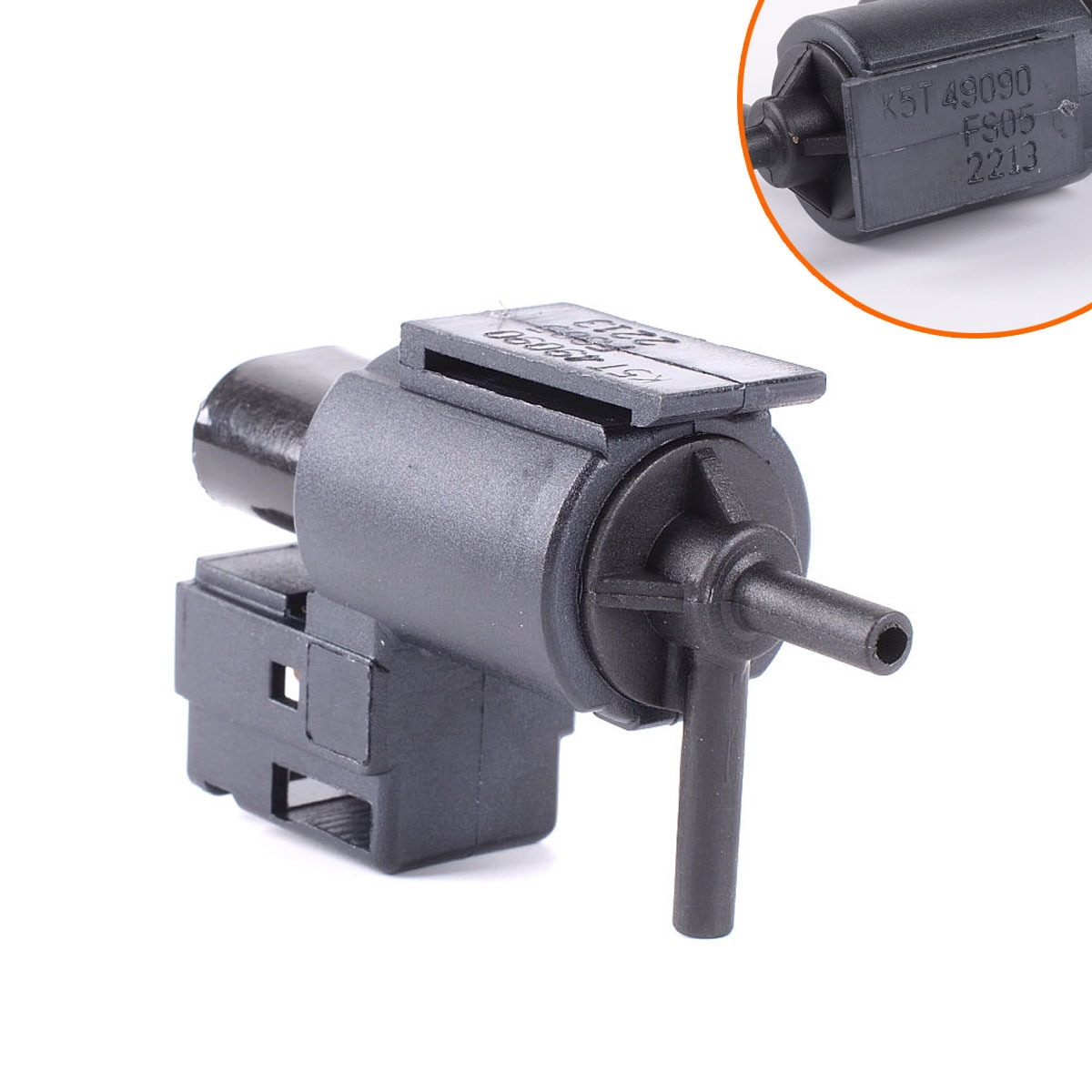 Adecuado para la válvula de solenoide de la válvula de aire Mazda adaptador de la válvula de deflación del interruptor de vacío egRX-8 Disciples MPV Vs55