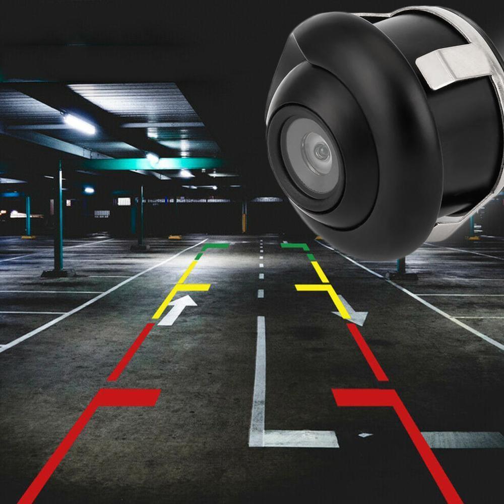 NEW 360 Degree HD CCD Car Rear View Reverse Night Vision Parking IP67 Camera Wired Vehicle Backup Waterproof Camera X3O4