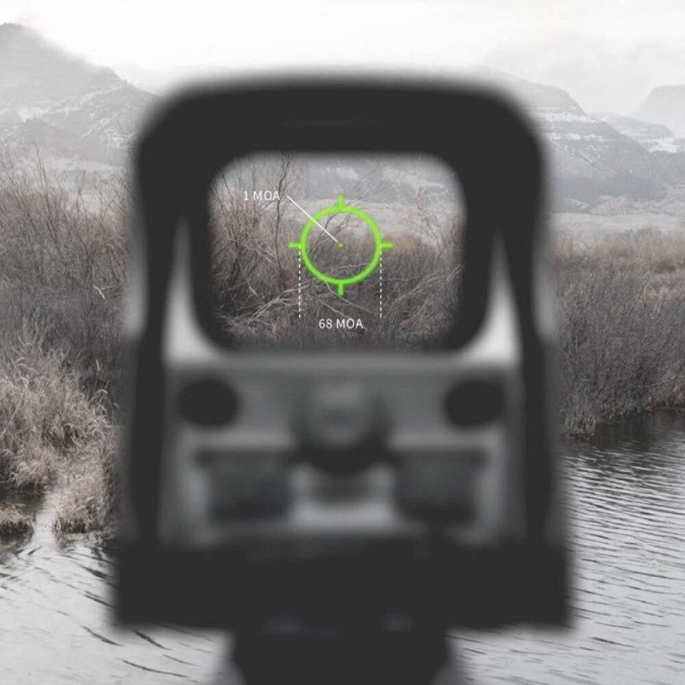 22mm preto ferroviário monta llluminação verde vermelho vista holográfica colimador para airsoft sniper rifle caça ao ar livre acessórios