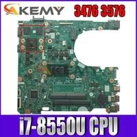 new 17841 1 w i7 8550u for dell inspiron 3476 3576 vostro 3478 3578 laptop motherboard cn 0h8jrv h8jrv mainboard 100 tested