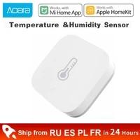 Xiaomi Aqara     capteur intelligent de temperature et humidite  pression atmospherique  controle intelligent  connexion Zigbee  pour application mi home Apple HomeKit