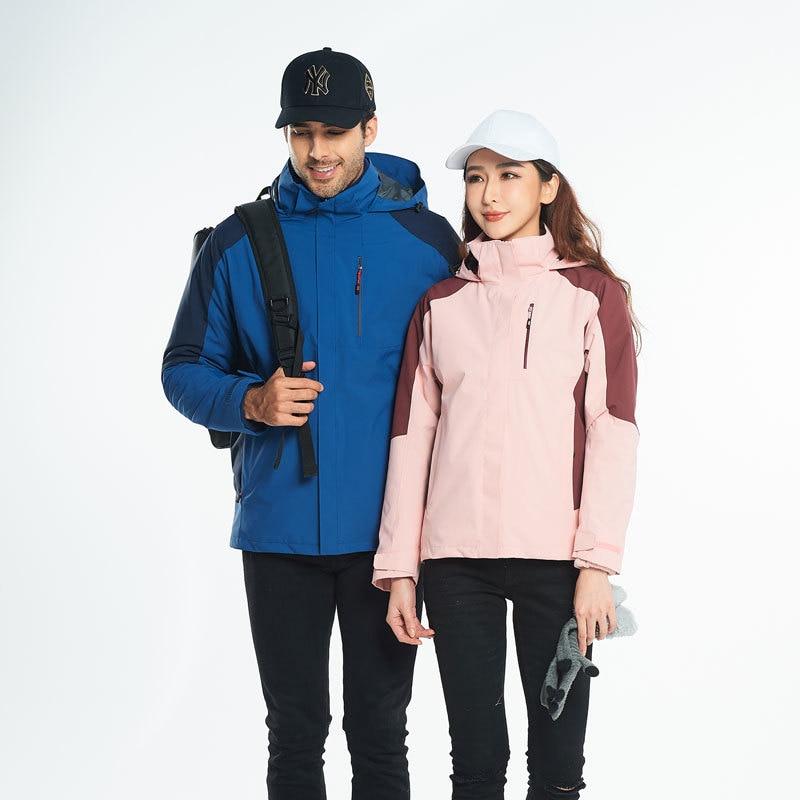 Clothes Ski Equipment Wear Jacket Men Snowboard Jacket Ski Suit Men Set Clothing Woman Winter Ropa Nieve Outdoor Sports BJ50HX
