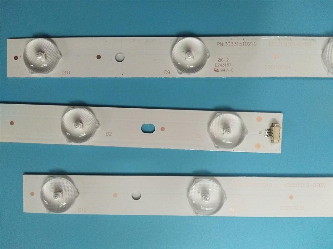 5 مجموعة = 15 قطعة LED315D10-07(B) 30331510219 Led الخلفية ل LE32B310N 32E3000b 32E3000C LC320DXJ