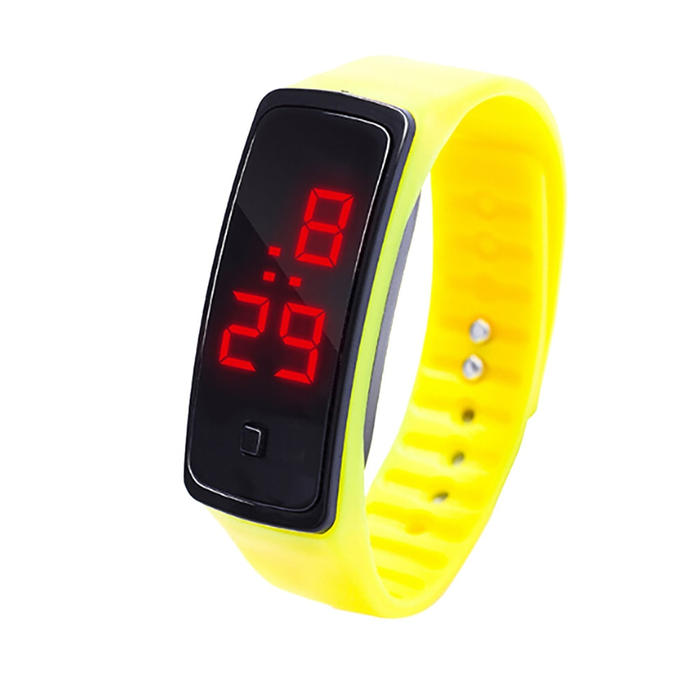 Kids Simple Digital Watch Wrist Watch For Children Students Girls Clocks Birthday Gift