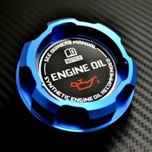 Blau Aluminium Motoröl Kappe für Mitsubishi LANCER EVO 8 9 3000GT 3000GT TWIN TURBO 6G72 GALANT VR4 OUTLANDER MIRAGE