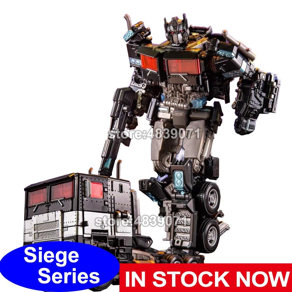 AOYI figuras de acción de juguete G1 Siege aleación Nemesis Prime camión versión inactiva transformación de deformación