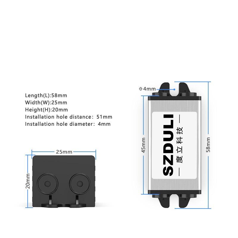 Купить с кэшбэком 12V 24V to 3.3V 3.7V 4.2V 5V 6V 7.5V 9V 5A DC power supply step-down module on-board transformer converter CE RoHS