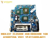 original for sony mbx 237 laptop motherboard mbx 237 i5 2520m 4gb hd6630m 1gb a1820735a v031 1p 0114200 a011 tested good