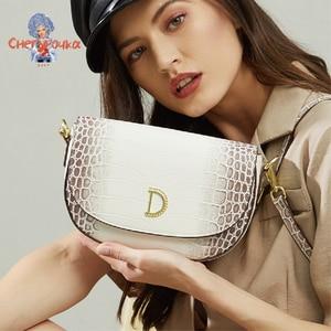 Himalaya Leather Ladies Shoulder Bag 2021 Summer New Female Crocodile Leather Shoulder Bag Classic Fashion Luxury Messenger Bag