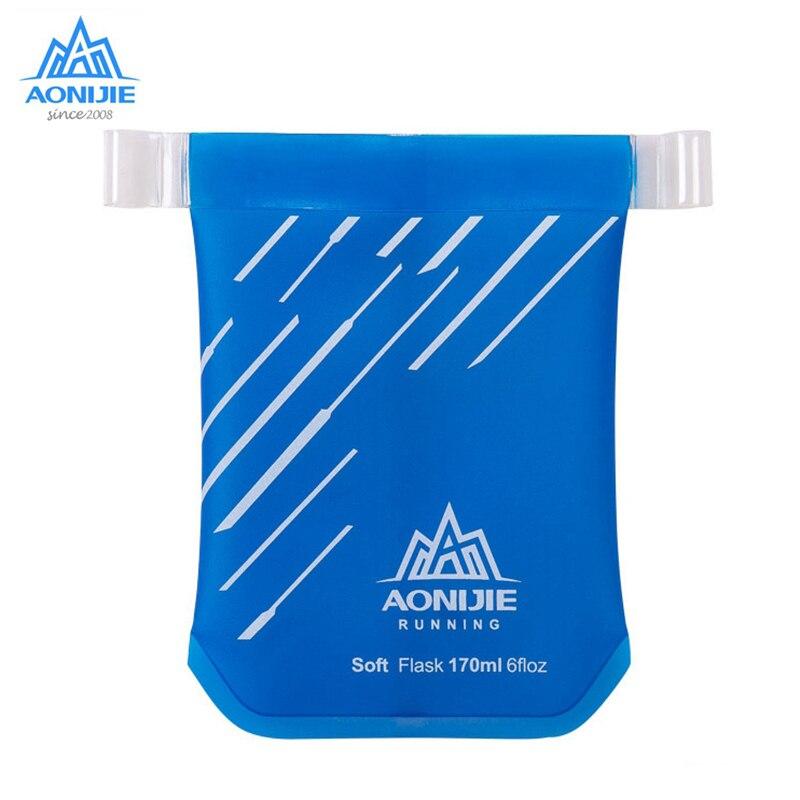 Taza blanda AONIJIE, taza para agua, tetera de TPU, botella de agua plegable para exteriores, ejercicio deportivo correr Marathon