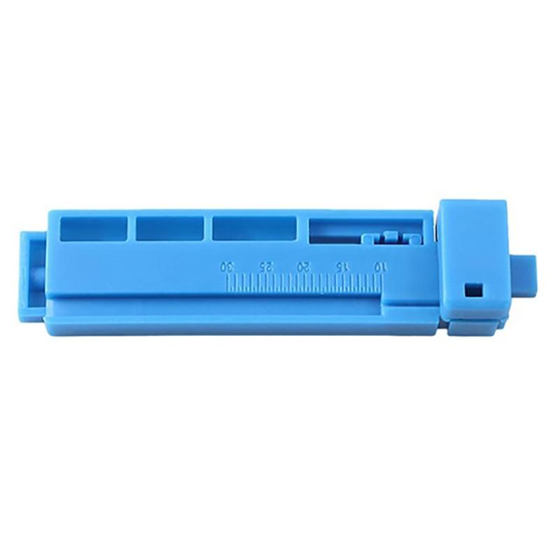 Herramienta de conector rápido de fibra óptica 100 Uds., pelador de longitud fija, longitud del riel guía de una Combo al por mayor