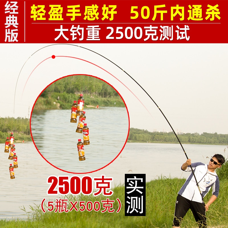 Handle Float Fishing Rod Carbon Long Throw Portable Spinning Freshwater Fishing Rod Kit Shore Casting Trout Olta Baitcast HX50RC enlarge