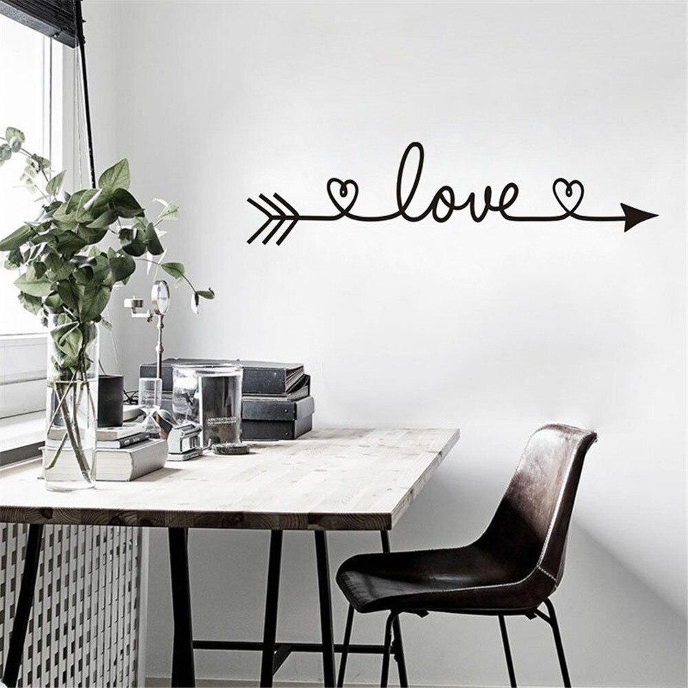 Pegatinas de pared para decoración del hogar, Adhesivo de pared de casa,...