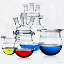 Laboratorium Glas Reactor Reactie Ketel Drie Of Vier Halzen Glas Reactie Nog Kolf Beker