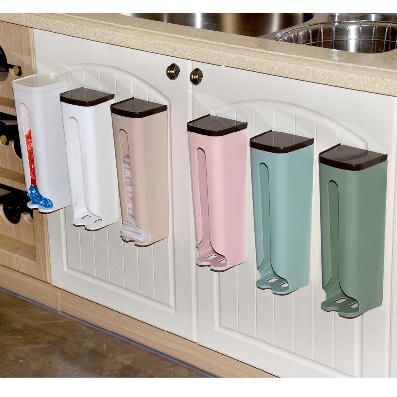 1 قطعة الحائط كيس النفايات غرفة نوم المطبخ الحمام كيس النفايات صندوق منظمة خزانة بلاستيكية حقيبة التخزين أداة المطبخ
