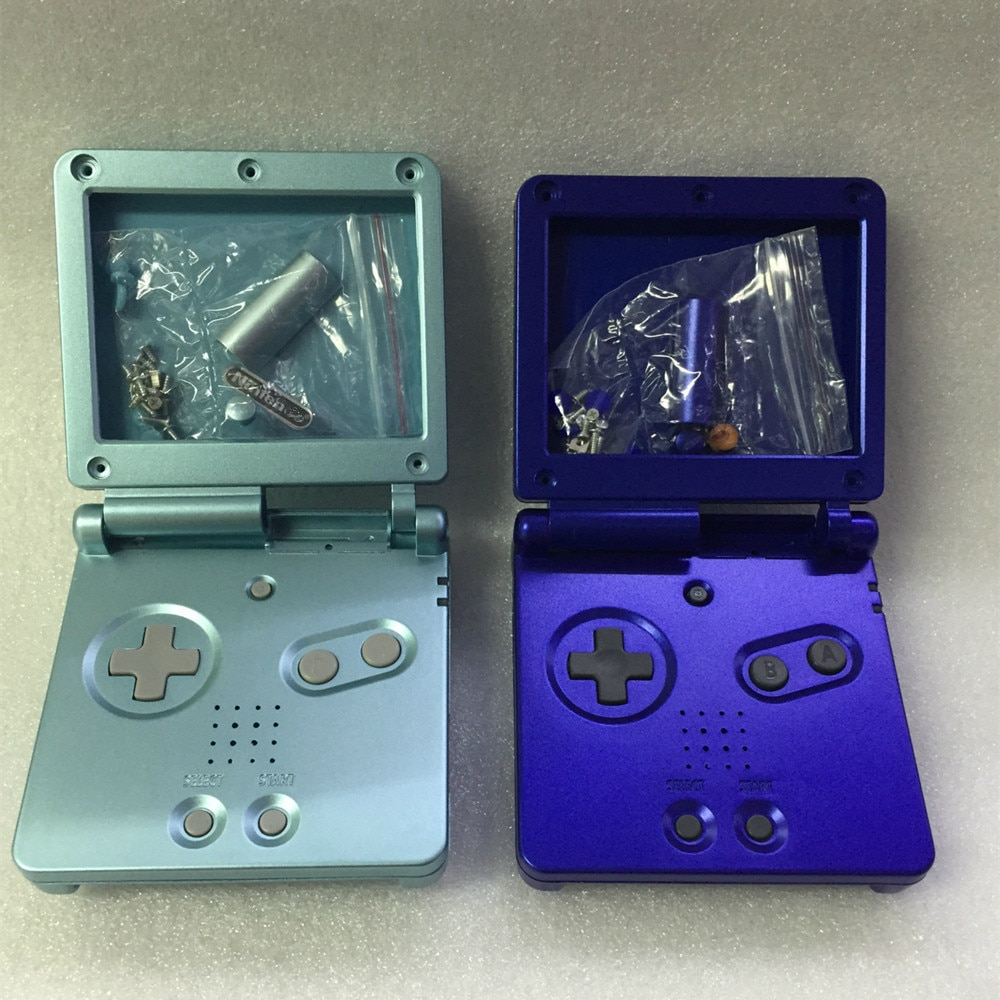 200PCS For GBASP For Game boy Housing Case Cover Replacement Full Shell For Advance SP