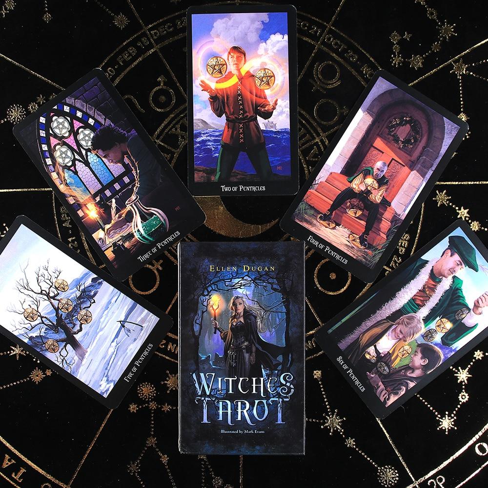 Колода ведьмы Таро 78 карт индикатор судьбы будущего карты прогнозирования подарок настольная Игра настольная игра