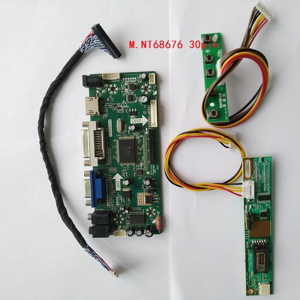 """Para LTN170X2-L02 1440X900 Placa de controlador kit VGA LCD LED 17,0 """"monitor HDMI tarjeta DVI LVDS DIY Panel de pantalla"""