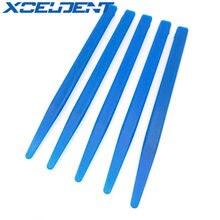 100 pièces spatule de mélange dentaire couteau de mélange en plastique plâtre mélange spatules couteaux pour laboratoire dentaire utilisation matériel SL503