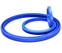 polyurethane hydraulic cylinder oil sealing ring 1012204 56mm 50x58x56 5mm dhs type shaft sealing ring gasket