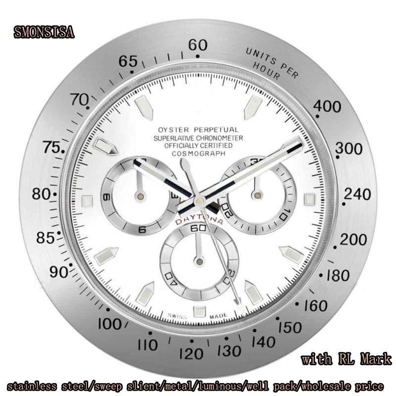 Metal Watch Luminous Clocks Luxury Design Wall Clock Metal Cheap wall clock Relogio De Parede Cheap wall clock Logos Best Gift
