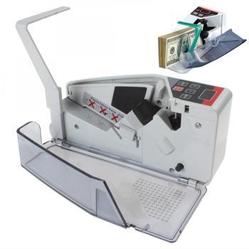 YBC-V40 Portable Mini Handy Currency Bill Money Cash Counter Counting Machine-intl