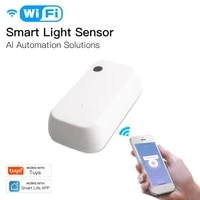 Tuya smart Light Sensor Wifi Illumination sensor Brightness Detector smart home automation Linkage Control Smart Life Tuya App