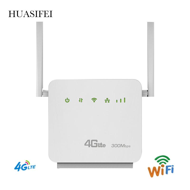 Разблокированные Wi-fi роутеры 300 Мбит/с, 4G, LTE, CPE, мобильный телефон маршрутизатор ФЗД TDD, LTE, WCDMA, GSM, глобальные внешние антенны, Wi-fi роутер с Sim-ка...