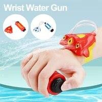 summer children toy wrist water gun handheld water blaster wrist sprinklers water sprayer summer bathroom beach pool accessories