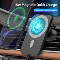15 Вт магнитное беспроводное автомобильное зарядное устройство