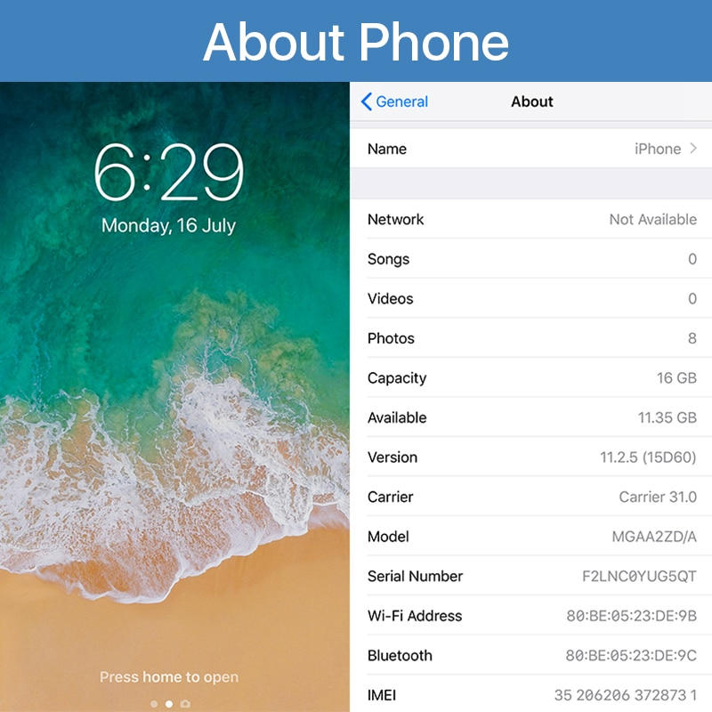 EU Ship Unlocked Original Apple iPhone 6 Plus 6P 16/64/128GB ROM 5.5