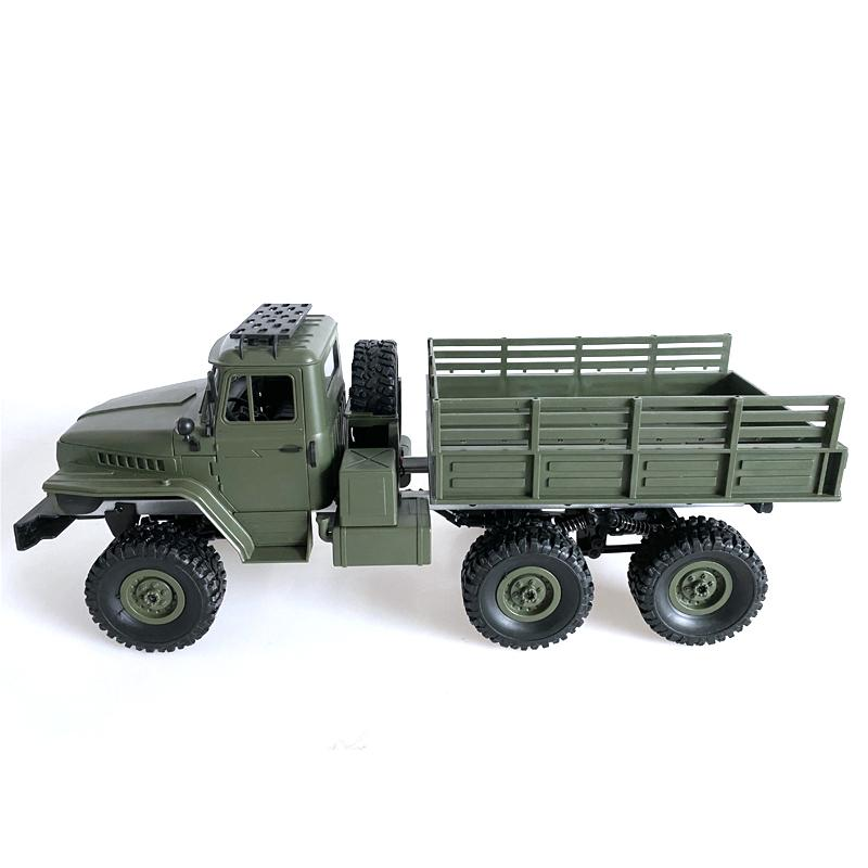 WPL MN-80S Ural 1/16 2.4G 6WD RC Car Truck Rock Crawler Command Communication Vehicle RTR Toy enlarge