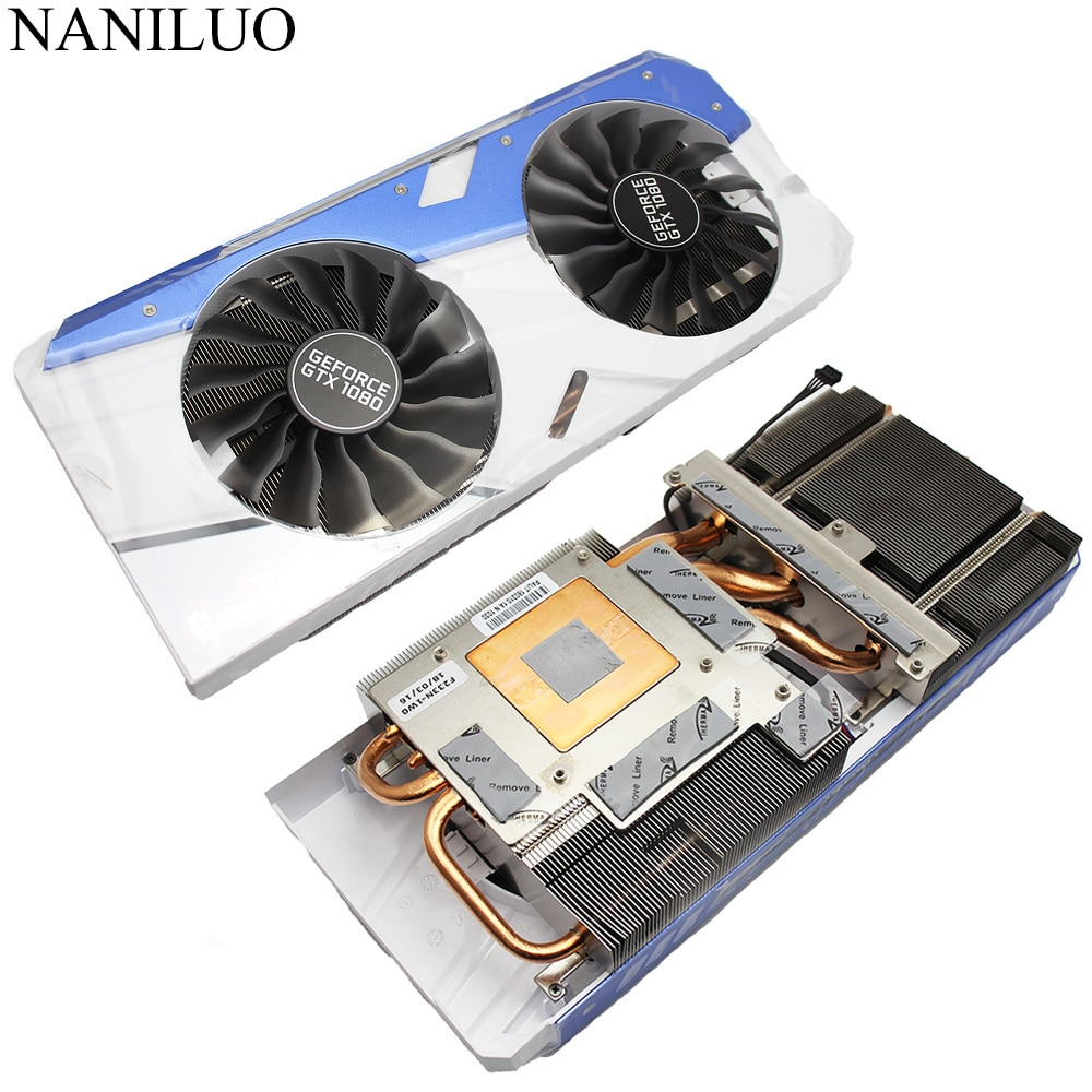 Original GTX 1070 1080 4Pin Cooler fan for EMTEK PALIT GeForce GTX1080 GTX1070 GameRock Premium Edition Video card radiator