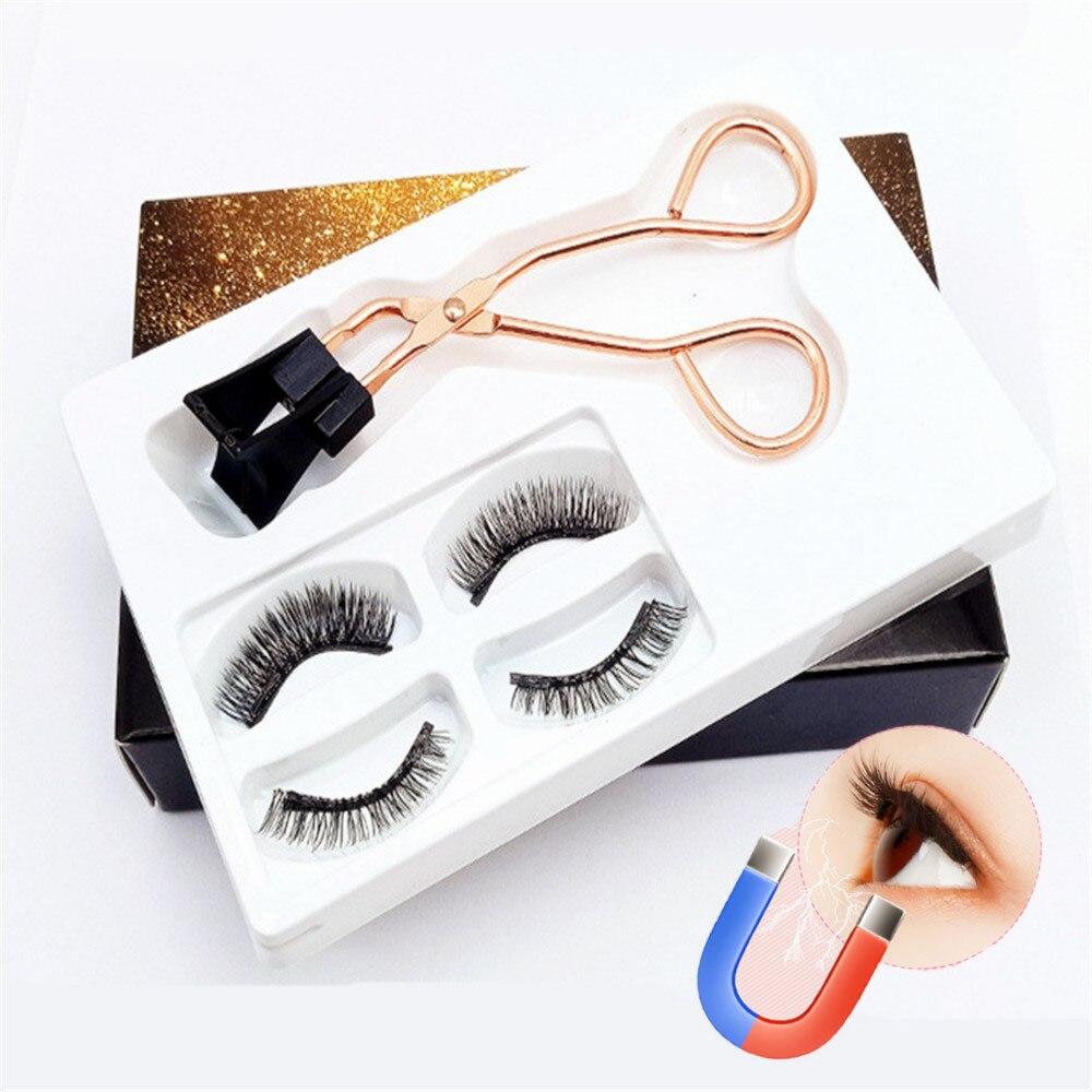 Magnetic False Eyelashes Magnetic Lashes Eyelashes on Magnets Lashes Kit Magnetic Lash Kit Eyeliner Magnetic Cilp Set Dropship