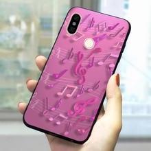 Soft TPU Music Nature Rose Phone Case for Redmi Note 6 Pro CoverRedmi Note 5 6 7 Pro 4A 7A 4X 6A 7 Mi A1 A2 A3 5 Plus