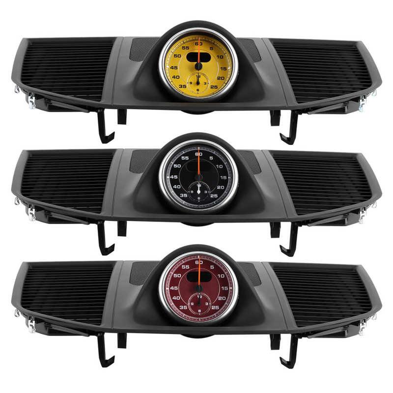 ساعة لوحة العدادات الاحترافية ، الغطاء العلوي ، كرونو لبورش ماكان 2014-2016 ، تزيين السيارة