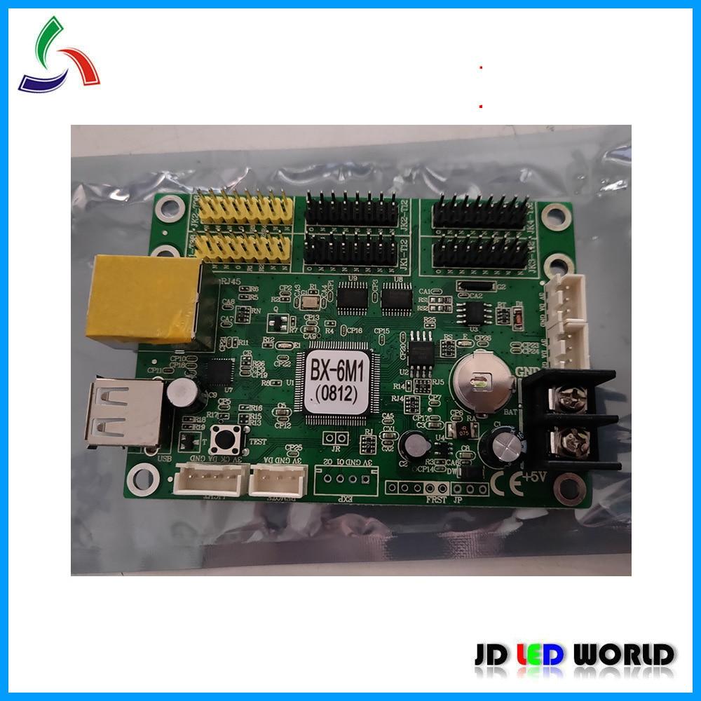Onbon BX-6M1 puerto Lan de doble pantalla led de color y un solo color tarjeta controladora