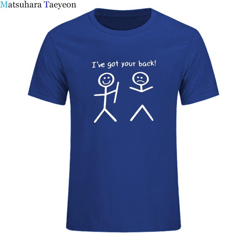 Engraçado eu tenho sua parte traseira impressão tshirt masculina casual streetwear t camisa para homem de manga curta o pescoço t camisa