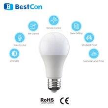 Nouvelle lumière intelligente BroadLink BestCon LB1 gradateur LED ampoule commande vocale avec Google Home et Alexa